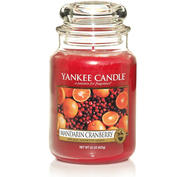 Mandarin Cranberry, Large jar, Yankee Candle