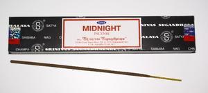 Midnight, Satya 15g, rökelse