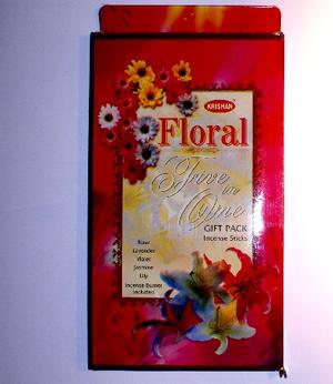 Rökelser, Presentbox Floral
