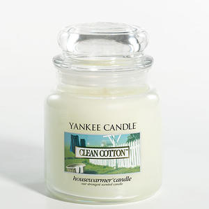 Clean Cotton, Medium Jar, Yankee Candle