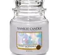 Sweet Nothings, Medium Jar, Yankee Candle
