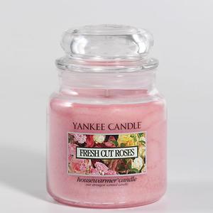 Fresh Cut Roses, Medium Jar, Yankee Candle