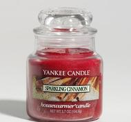 Sparkling Cinnamon, Small Jar, Yankee Candle
