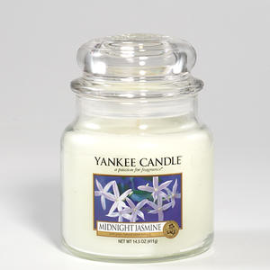Midnight Jasmine, Medium Jar, Yankee Candle