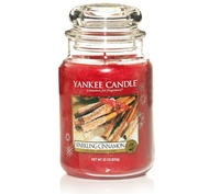 Sparkling Cinnamon, Large Jar, Yankee Candle