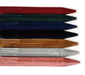 Lackstänger i olika färger