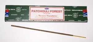 Patchouli Forest, 15 g, Satya, rökelse