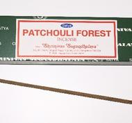 Patchouli Forest, 15 g, Satya, rökelse