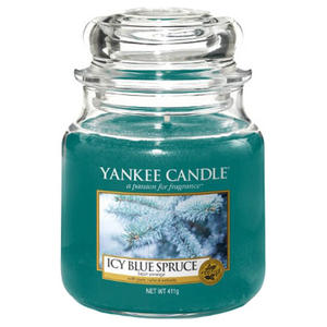 Icy Blue Spruce,  Medium Jar, Yankee Candle