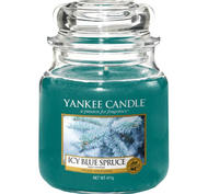 Icy Blue Spruce,  Medium Jar, Yankee Candle