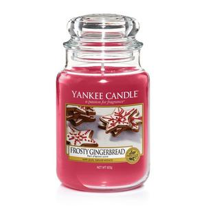 Frosty Gingerbread, Large Jar, Yankee Candle