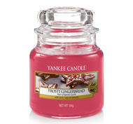 Frosty Gingerbread,  Small Jar, Yankee Candle