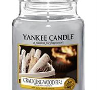 Crackling Wood Fire, Large Jar, Yankee Candle