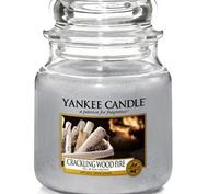 Crackling Wood Fire, Medium Jar, Yankee Candle