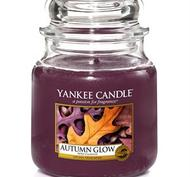Autumn Glow, Medium Jar, Yankee Candle