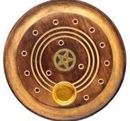 Rökelsehållare, Pentagram