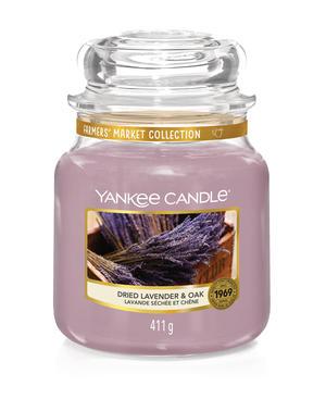 Dried Lavender & Oak,  Medium Jar, Yankee Candle