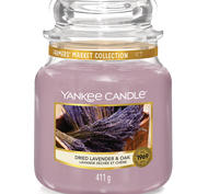 Dried Lavender & Oak,  Medium Jar, Yankee Candle