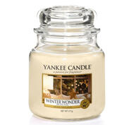 Winter Wonder,  Medium Jar, Yankee Candle
