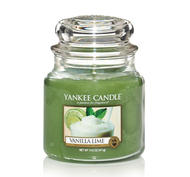 Vanilla Lime, Medium jar, Yankee Candle