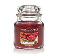 Black Cherry, Medium jar, Yankee Candle