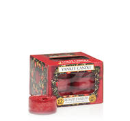 Red Apple Wreath, Värmeljus, Yankee Candle