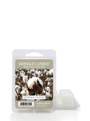 Egyptian Cotton, Vaxkakor, Kringle Candle