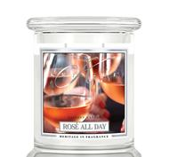 Rosé All Day, 2-Wick Medium Classic Jar, Kringle Candle