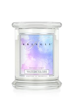Watercolors, 2-Wick Medium Classic Jar, Kringle Candle