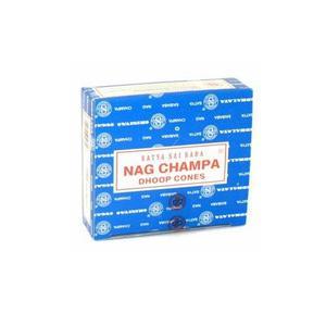 Nag Champa, Satya, rökelsekoner