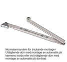 Arm 950N standard tryckande
