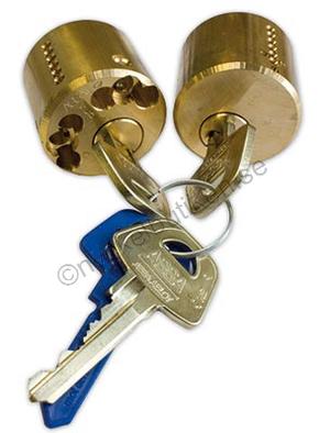 Assa låscylinder d12  1212 rund dubbel