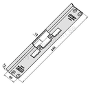 Step 40 Monteringsstolpe ST4002 vinklad