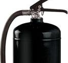 Pulversläckare 6kg 55A 233B C svart