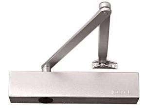 Geze dörrstängare TS4000 silver komplett