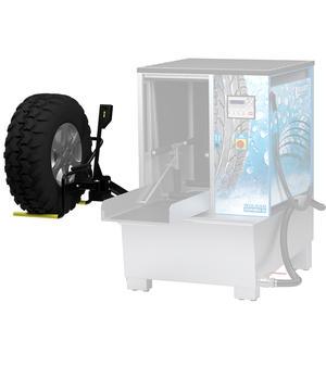 Hjullyft för hjultvätt