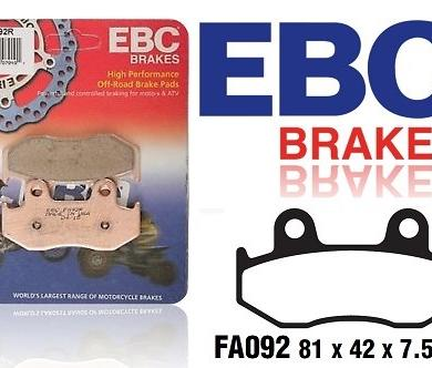 FA092R Bromspads Honda  ATC250R, CR125-500R, FTR, MTX, TRX, XL, XR