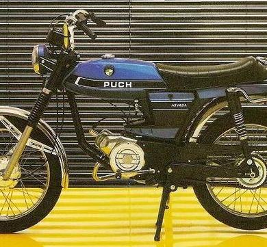 Puch Nevada Moped 1980?