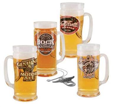 H-D Ölsejdlar 4 set Road House Brew Pub Mug 18743