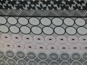 Sjal Grafiska mönster