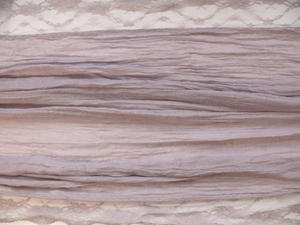 Sjal med Spets Viskos/Polyester