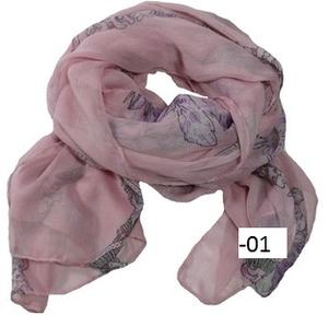 XL-sjal med stor dödskalle