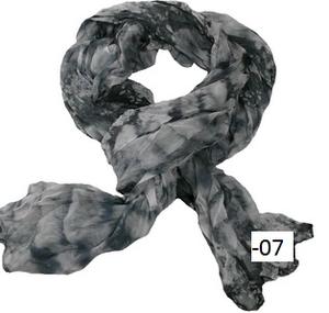 Krinklad chiffonscarves