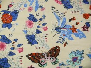 Storsjal Blommor/Fjärilar