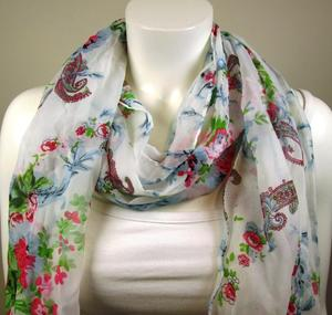 Mixade Blomscarves 12-pack