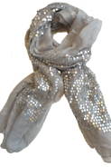 Paljett scarf