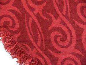 Halsduk Ornament snedskuren med frans
