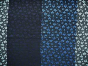 Halsduk Stjärnor flerfärg