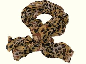 Krinklad scarves animal