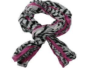 Krinklad scarves savann